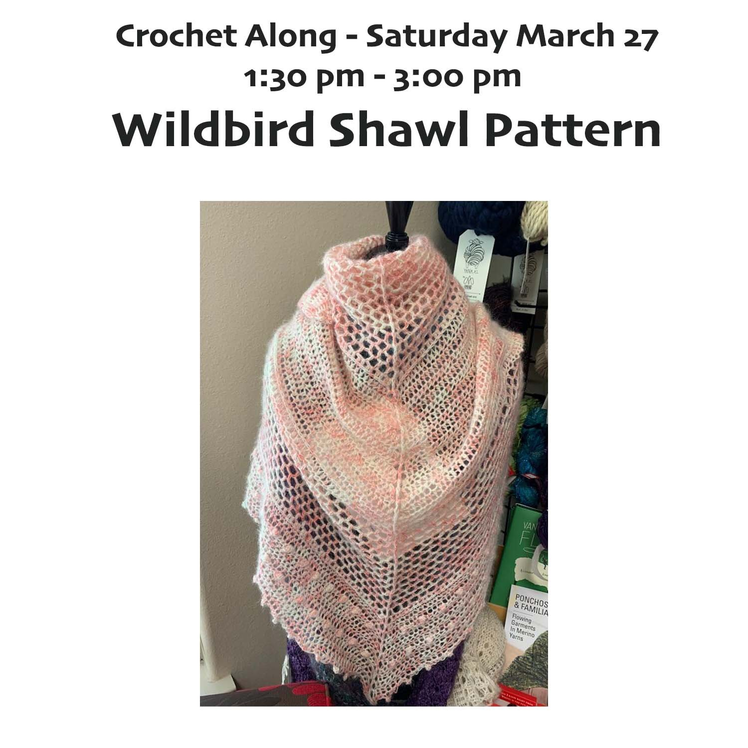 CAL Saturday - Wildbird Shawl