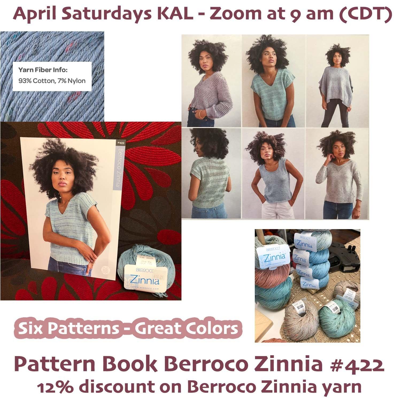 April's Promotion - Berroco Zinnia