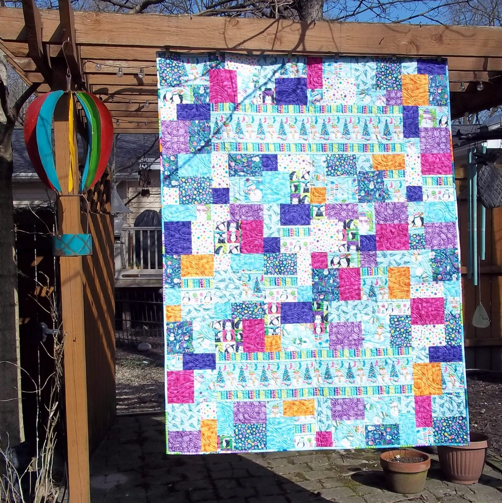 BY Golly, Let's GET Jolly ...Quilt KIT