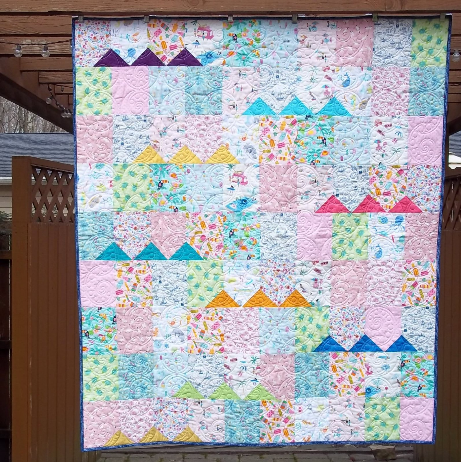 Gator Party...Quilt KIT