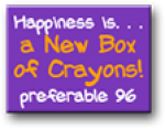 hapiness is a new box of crayons