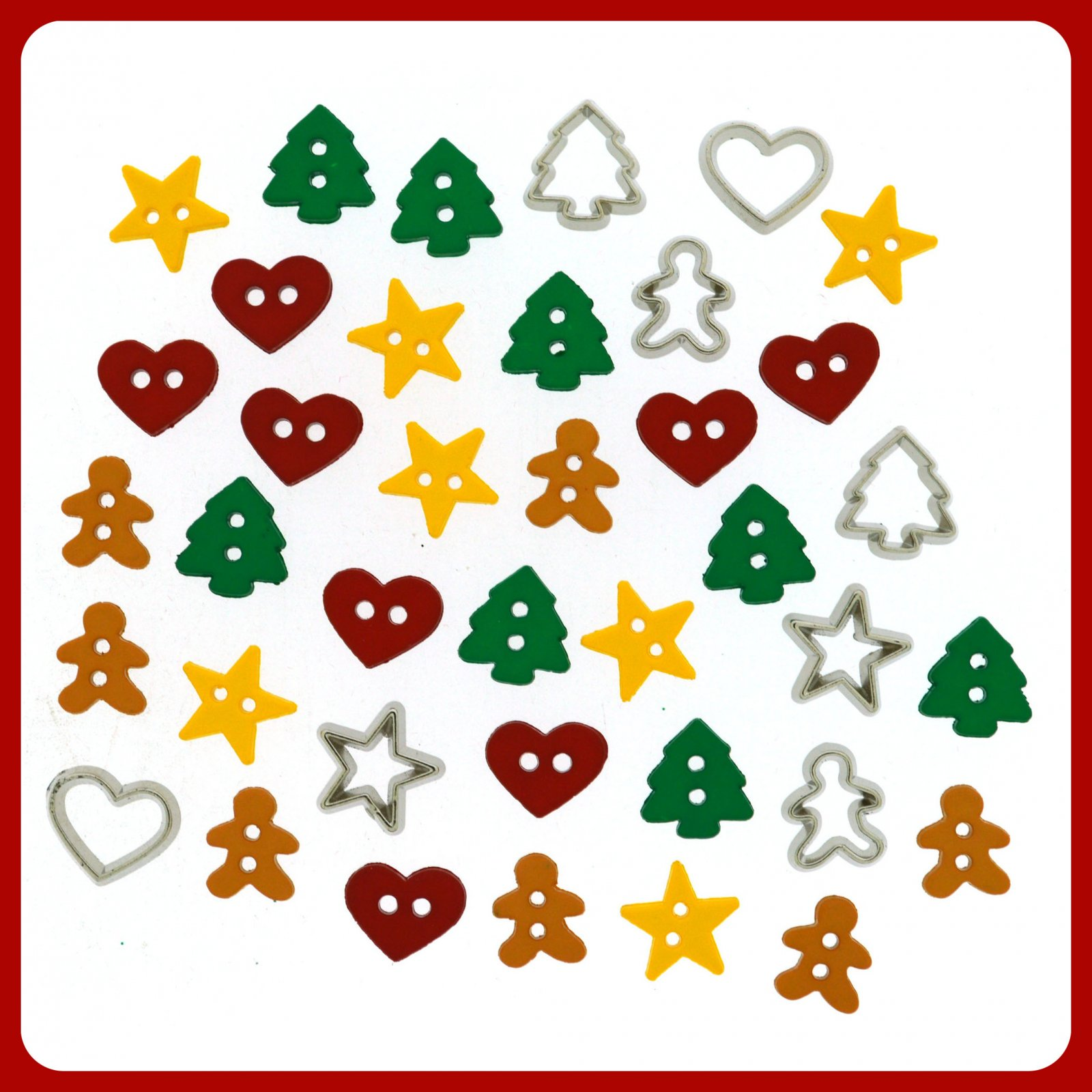 Holiday Collection...Itty Bitty Cut-Out Cookies