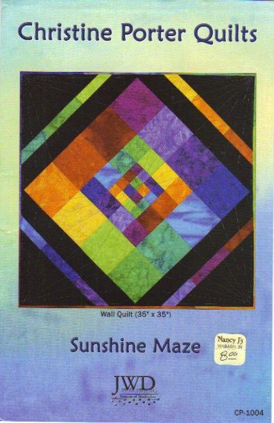 JWD Publishing...Sunshine Maze