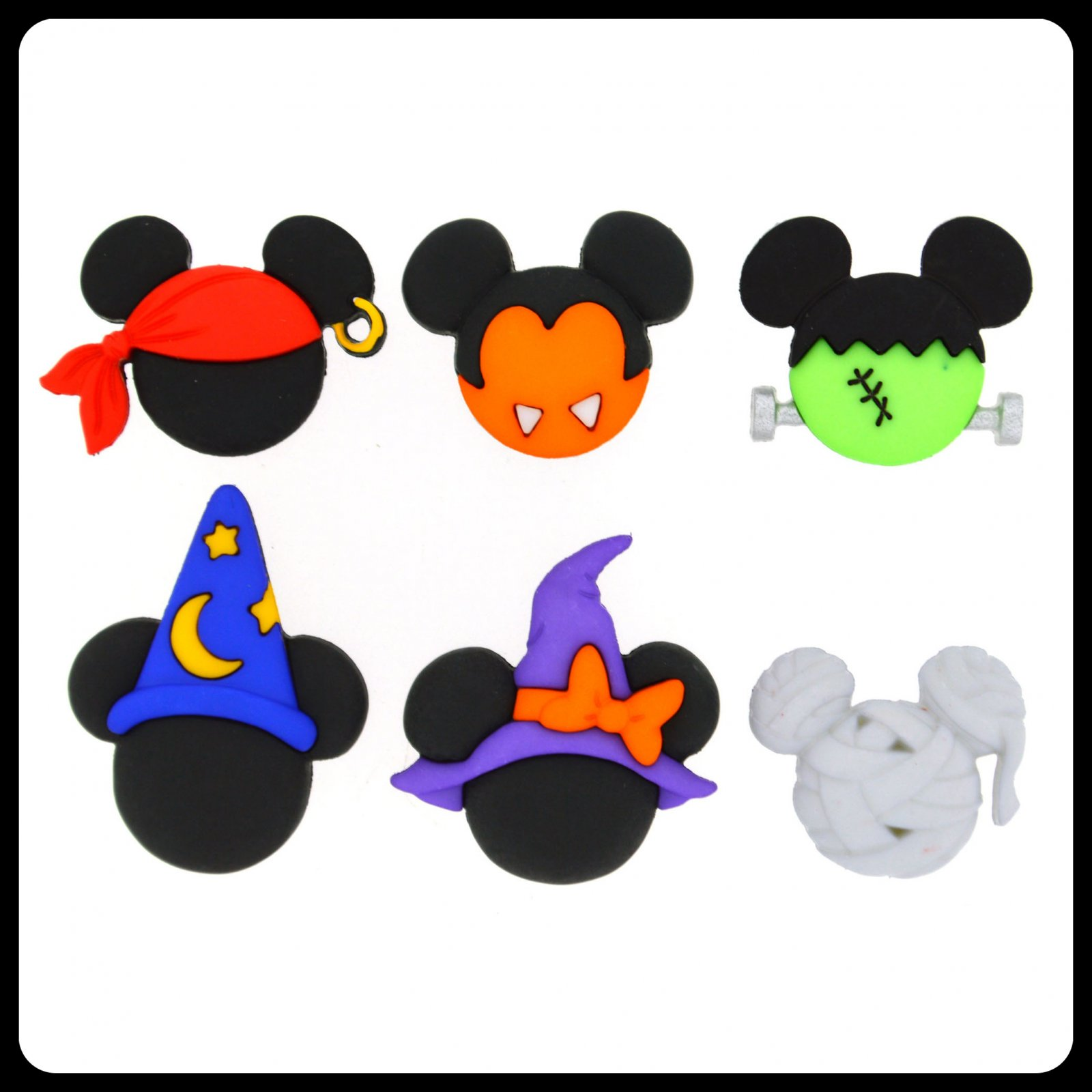 Disney Halloween...Mickey and Minnie - Hats