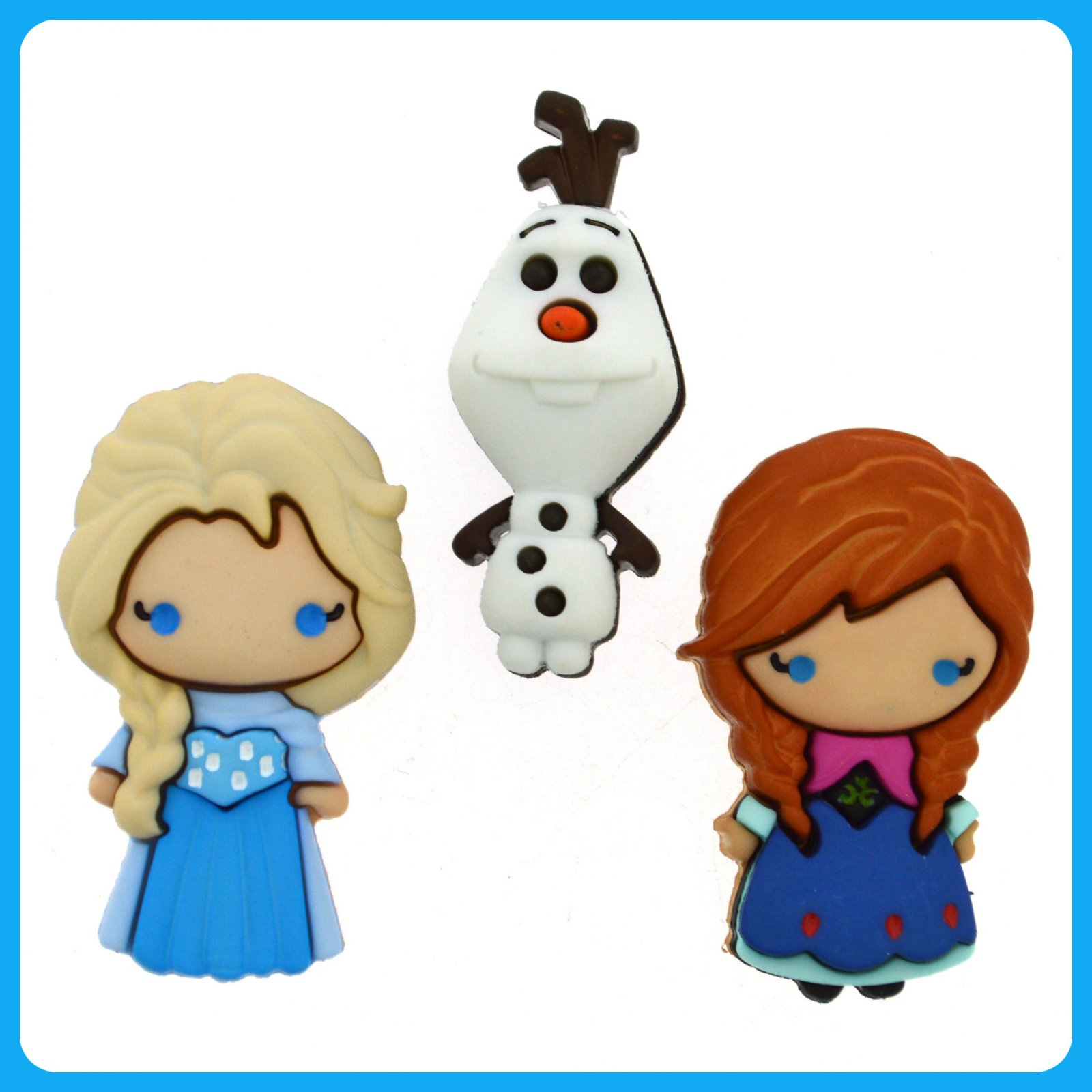 Disney...Frozen - Anna - Elsa & Olaf