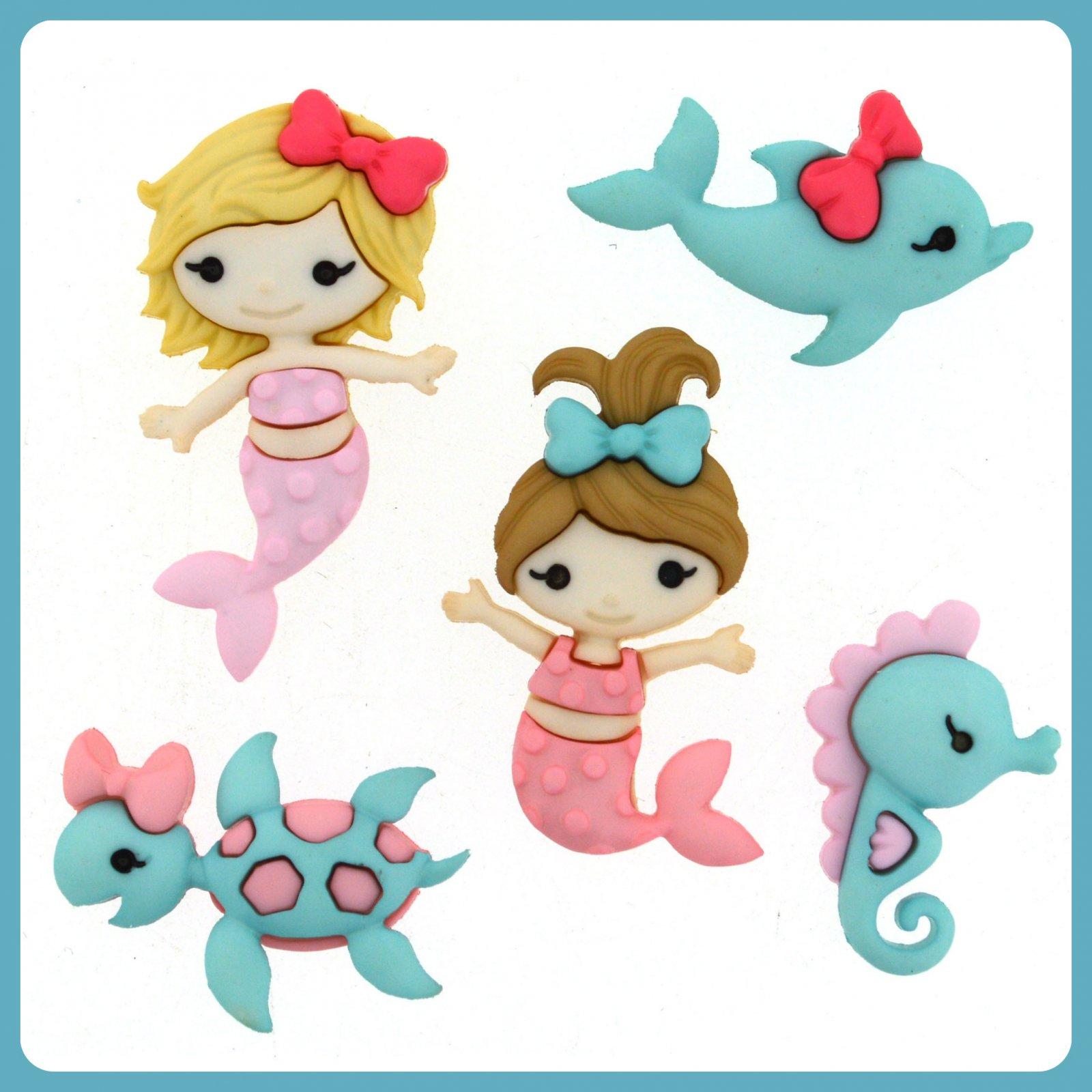Dress it Up...Mermaid Kisses