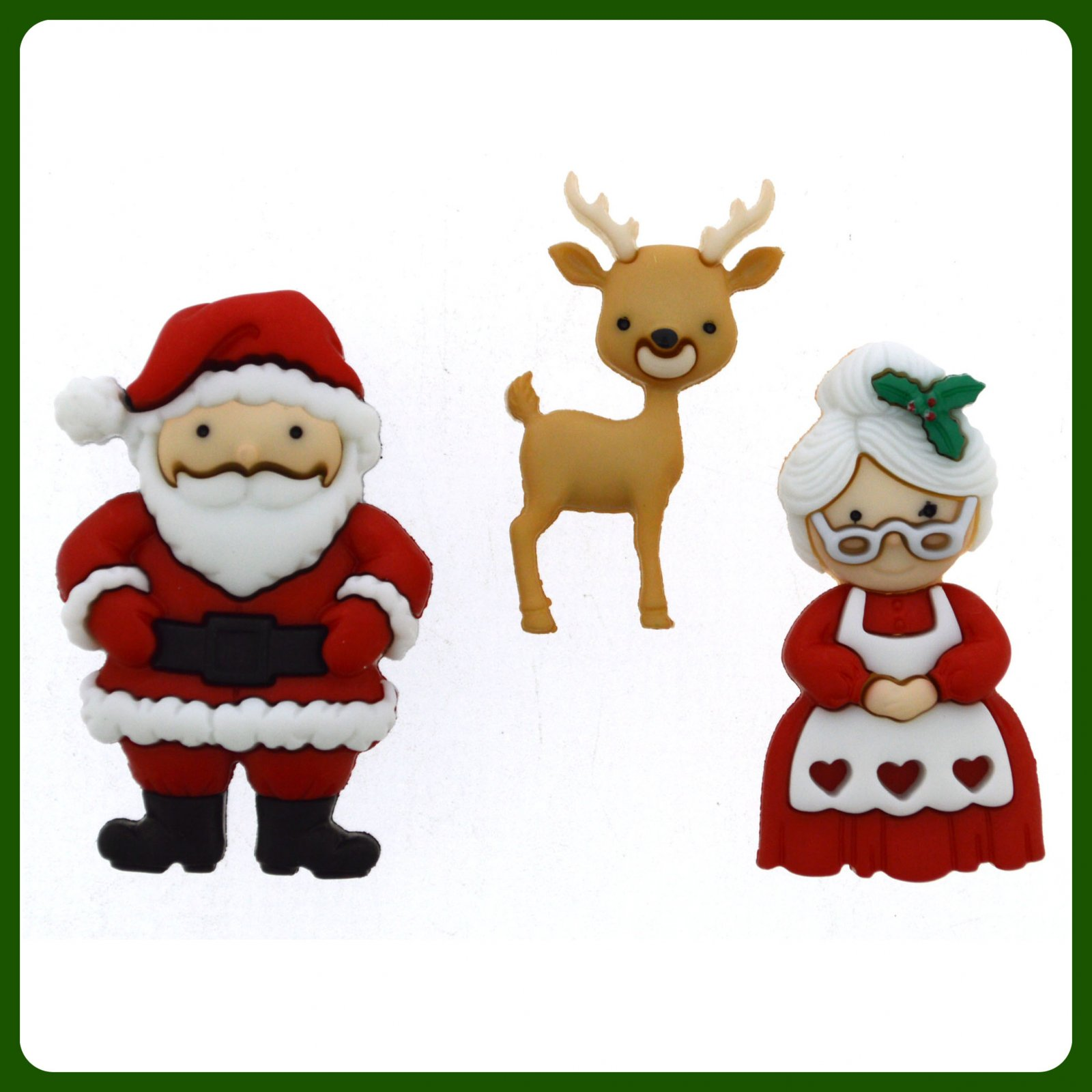Holiday Collection...Mr & Mrs CLAUS