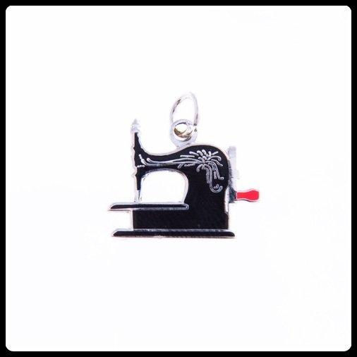 Quilt Charm...Antique Sewing Machine