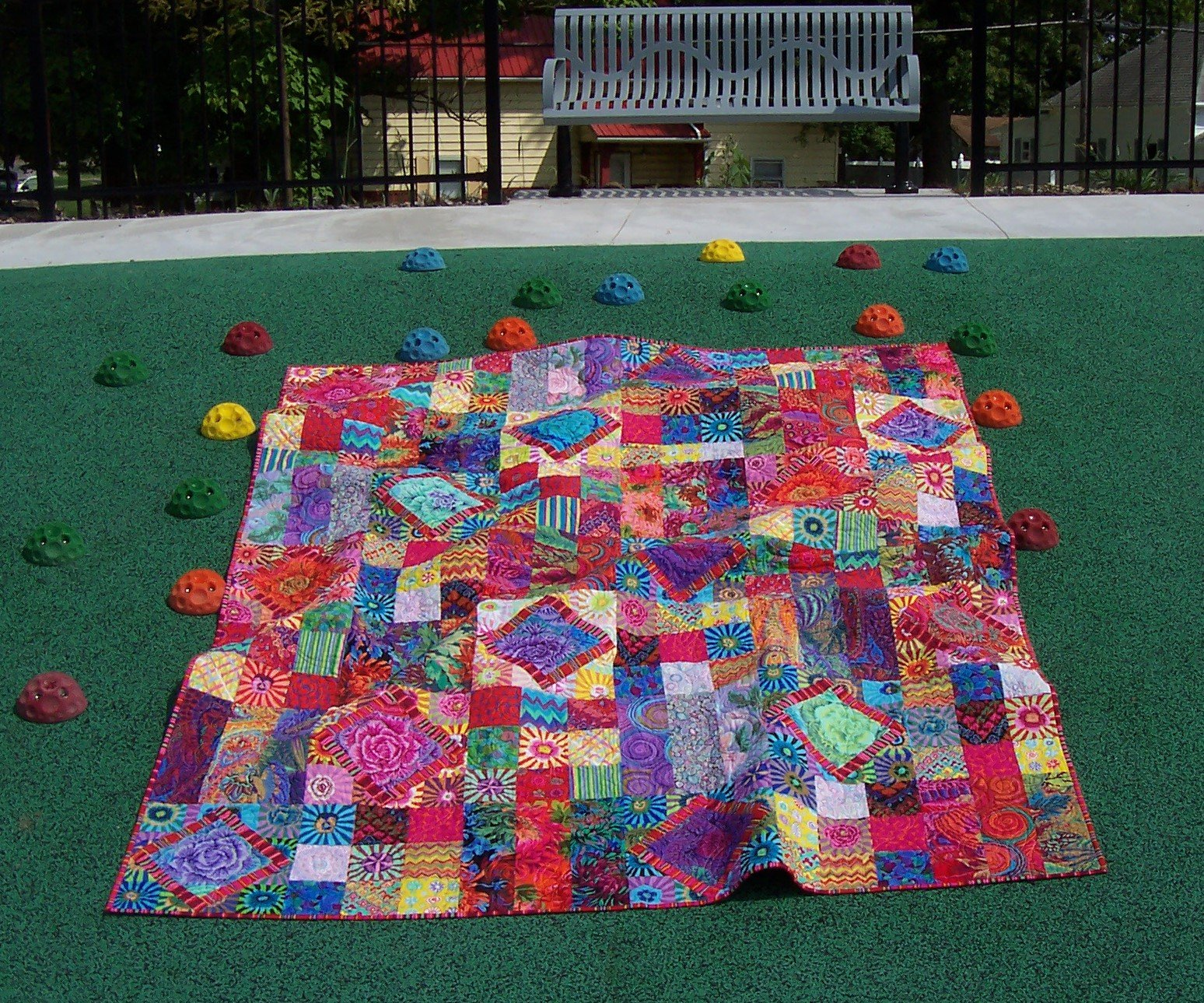 Carnival of Color...Quilt KIT