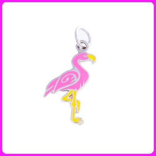 Quilt Charm...Flamingo