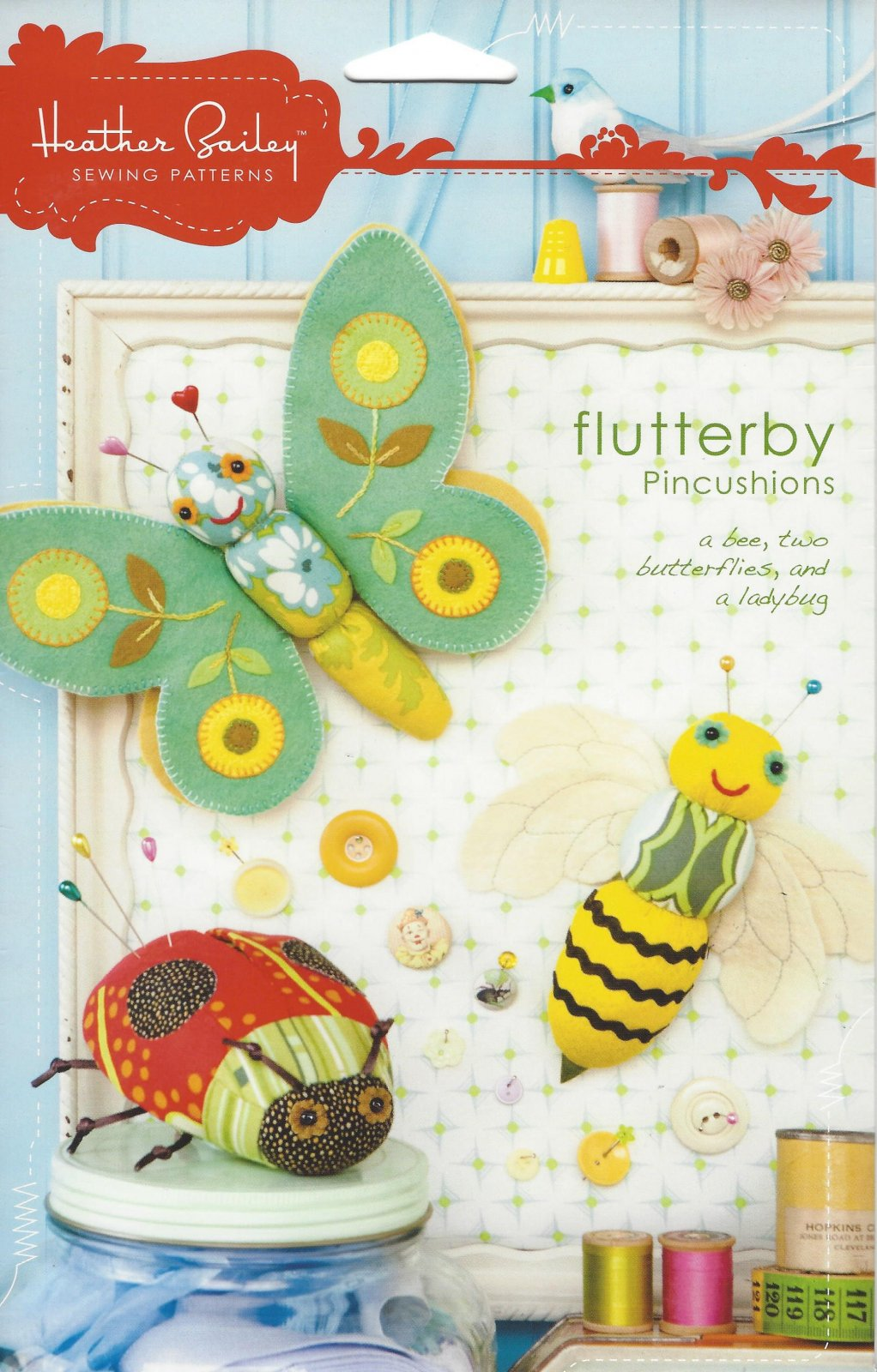 Heather Bailey...Flutterby Pincushions