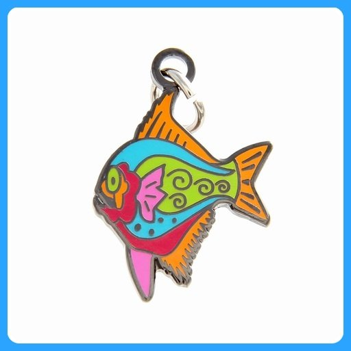 Quilt Charm...Funny Fish