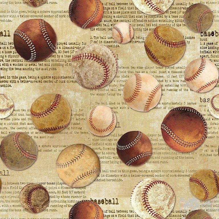 Baseballs Tossed