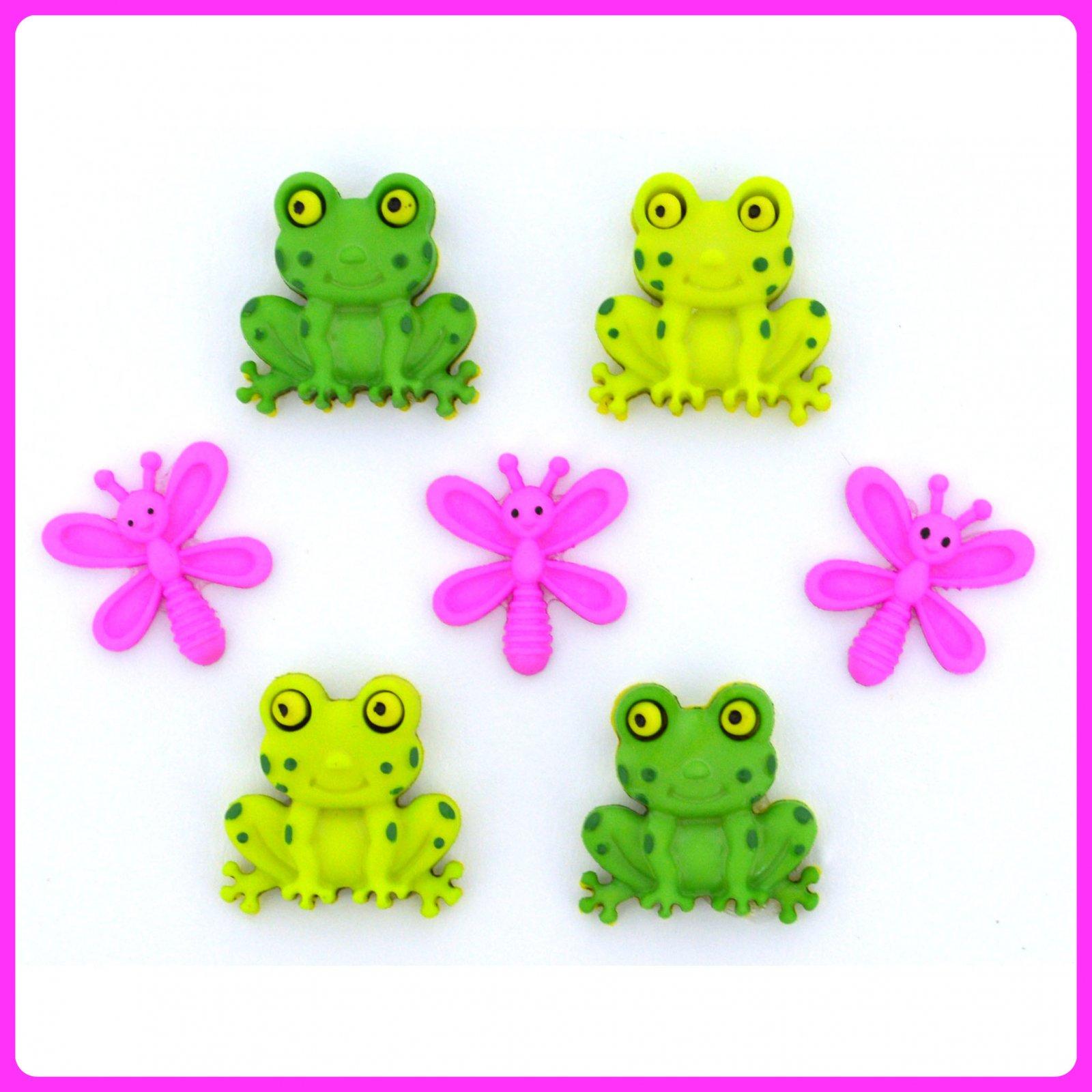 Dress it Up...Happy Frogs