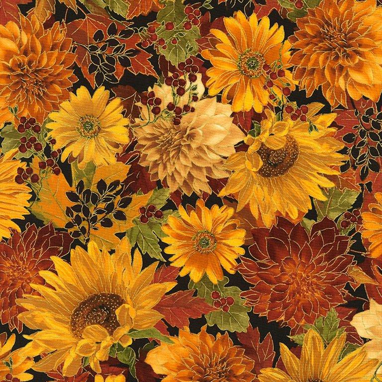 Harvest...Sunflower Floral