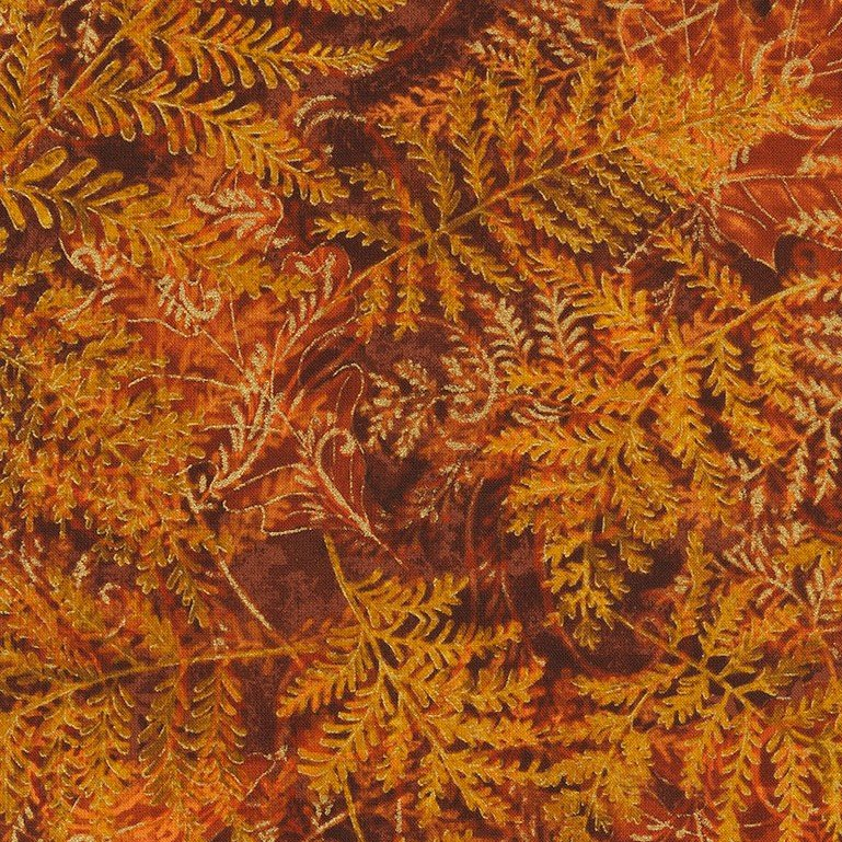 Holiday...Ferns and Leaves