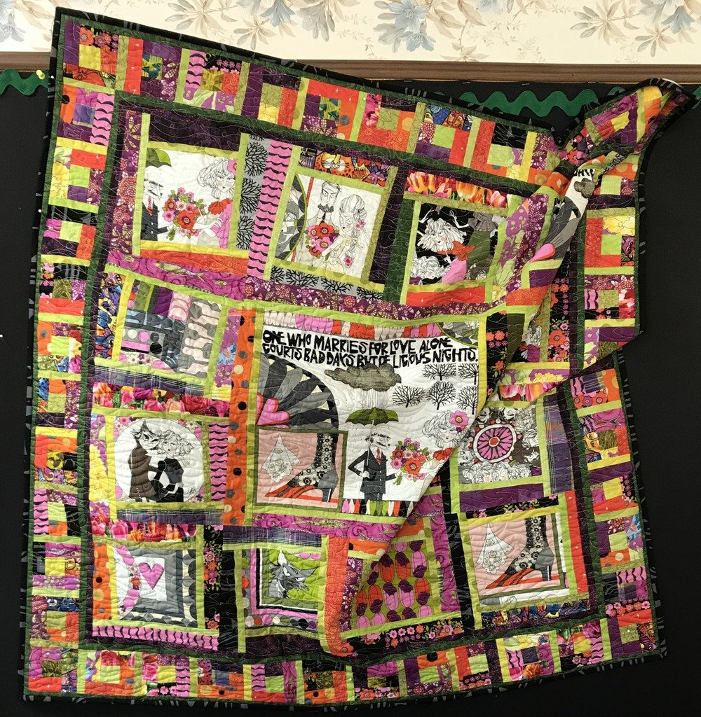 Ghastlie Love...Quilt KIT