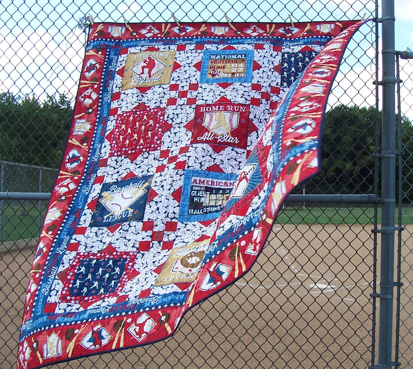 Play Ball!...Quilt KIT