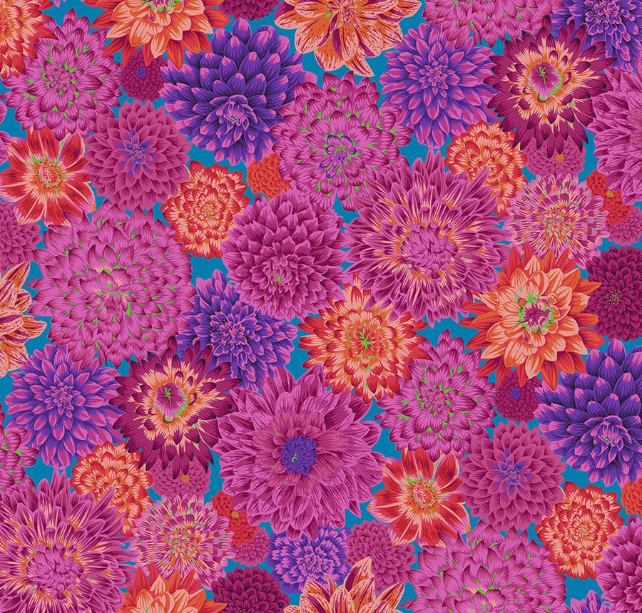 Kaffe Fassett Collective...Dancing Dahlias