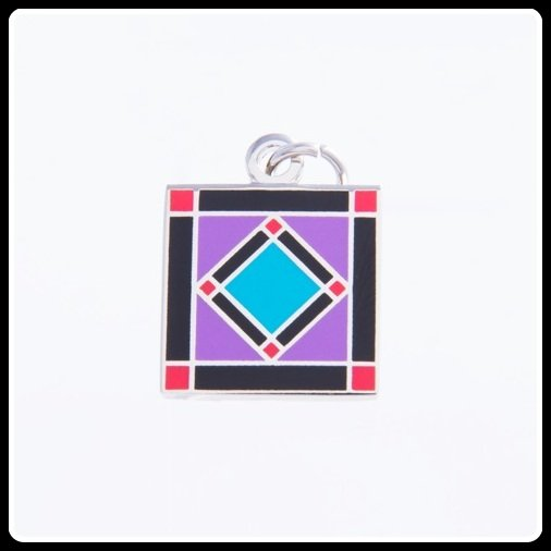 Quilt Charm...Square in a Square