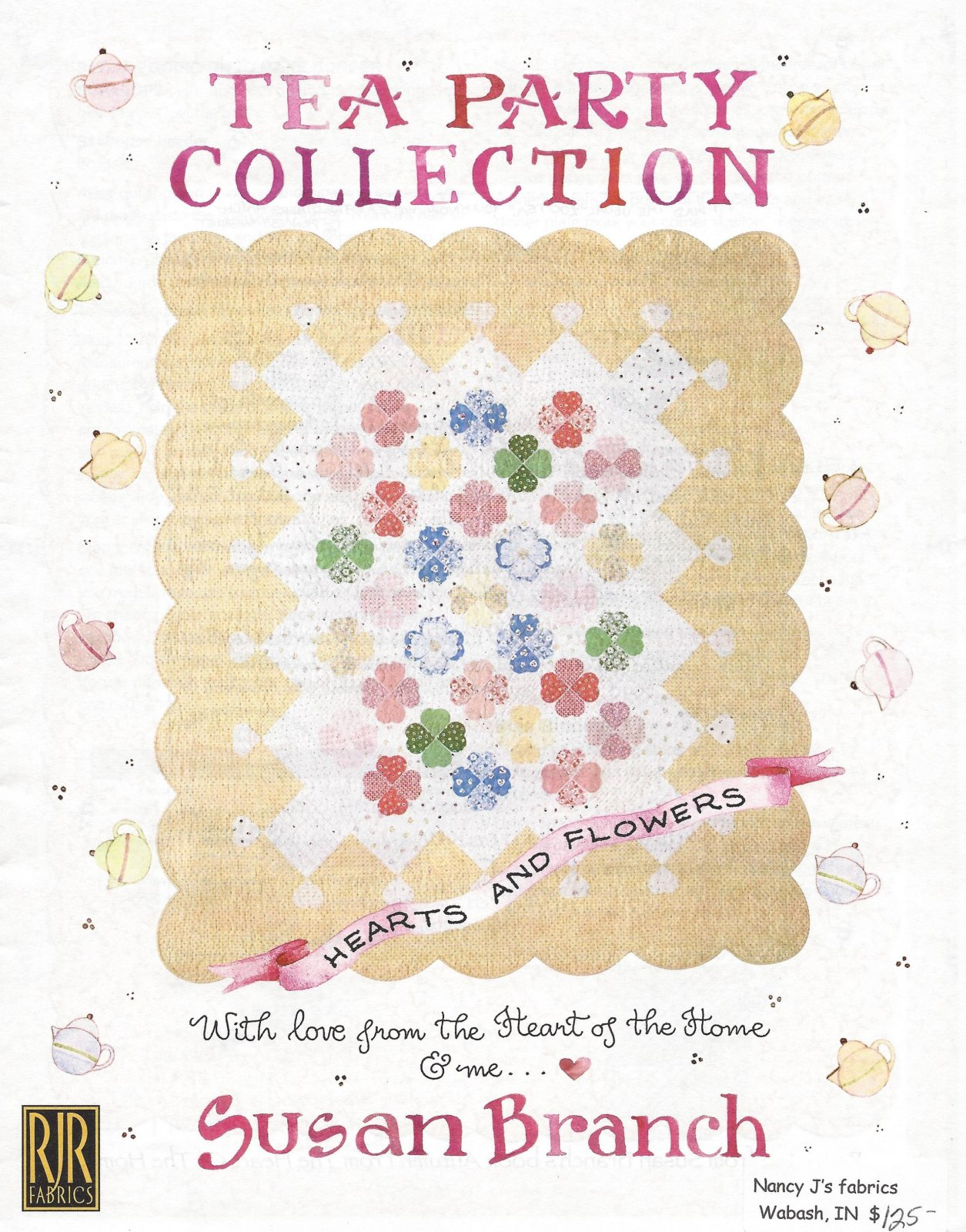 Hearts & Flowers...Quilt KIT