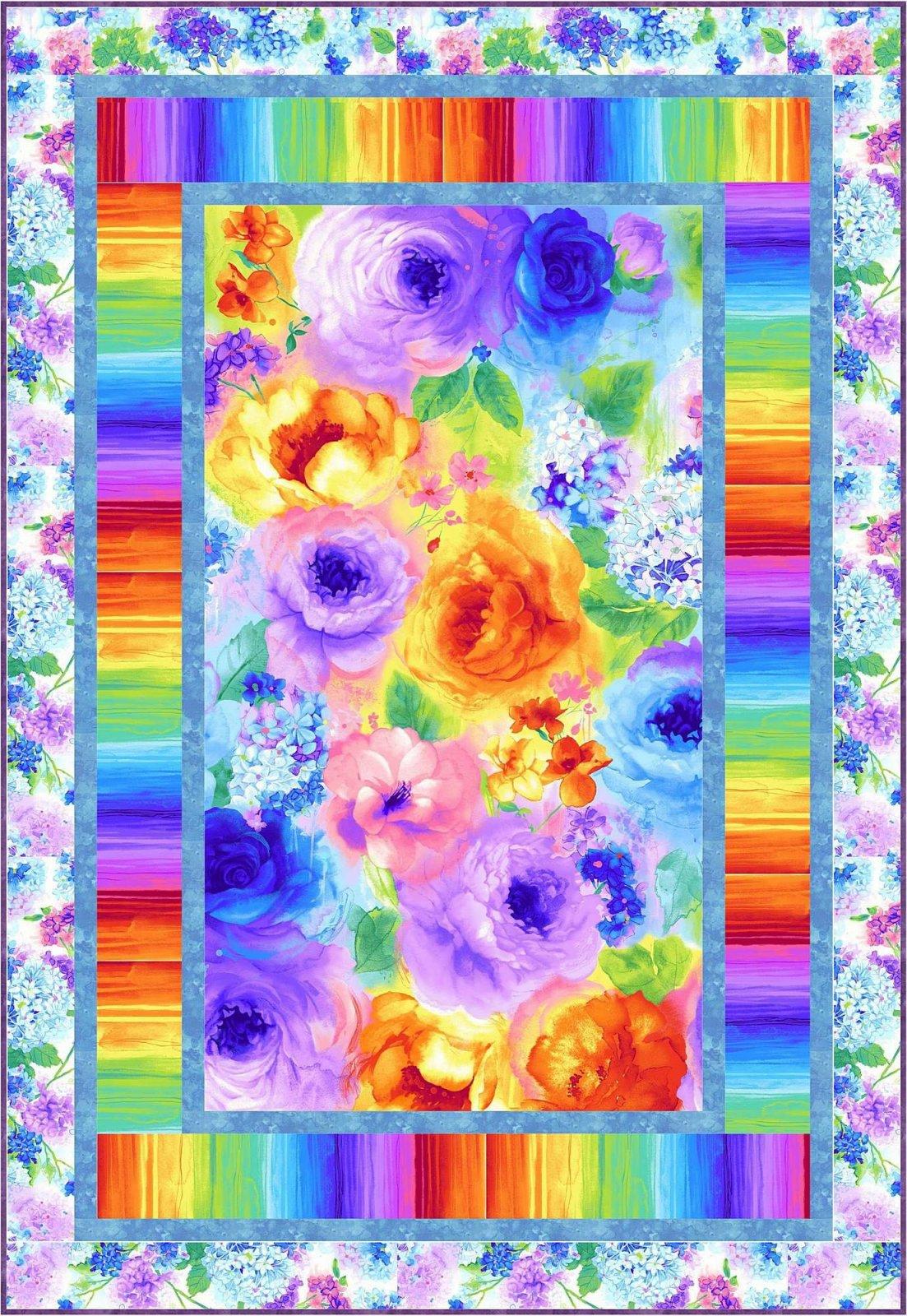 Rain Blossom - Flight . ..Project Pattern