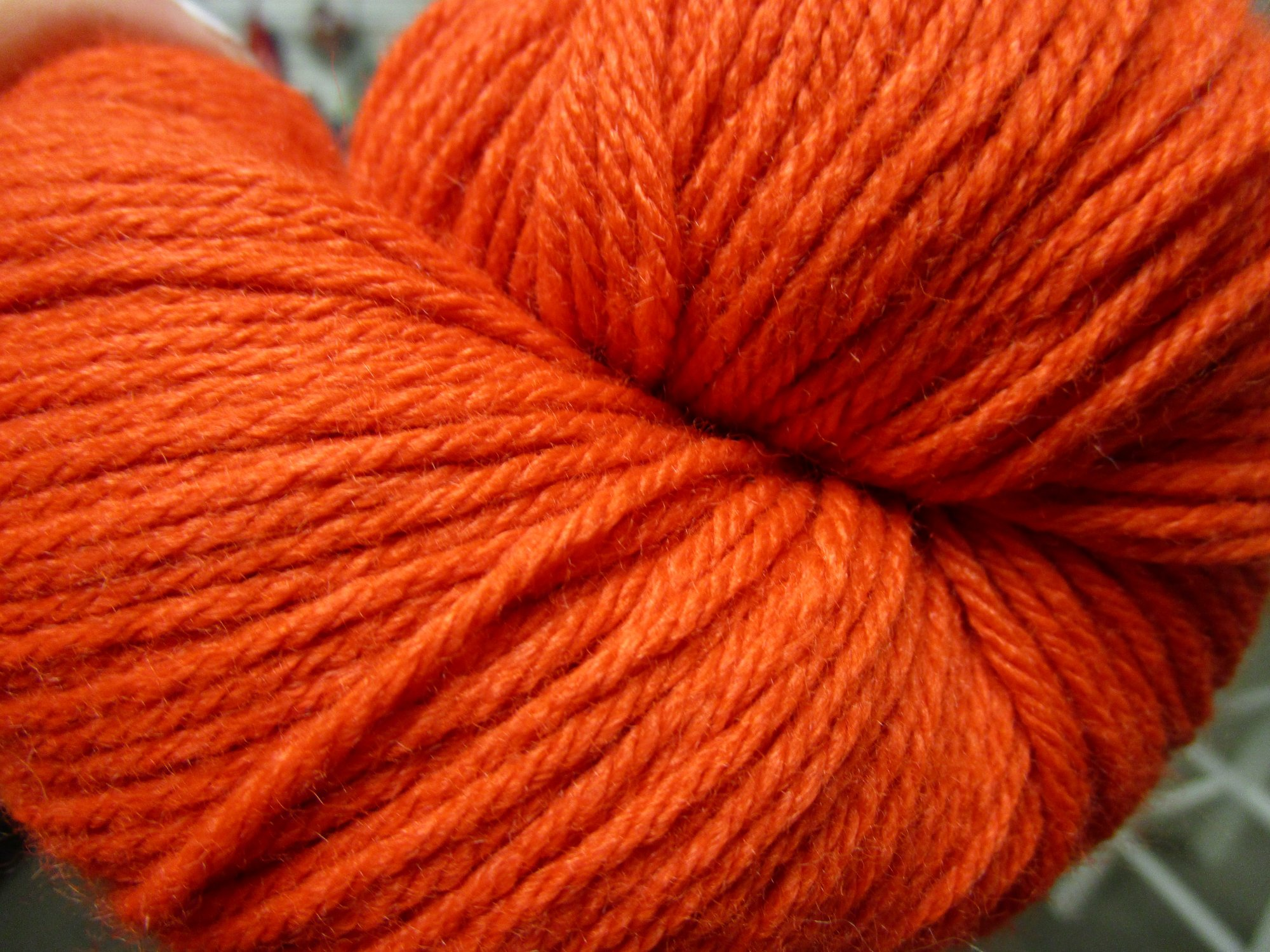 vintage worsted orange 5140