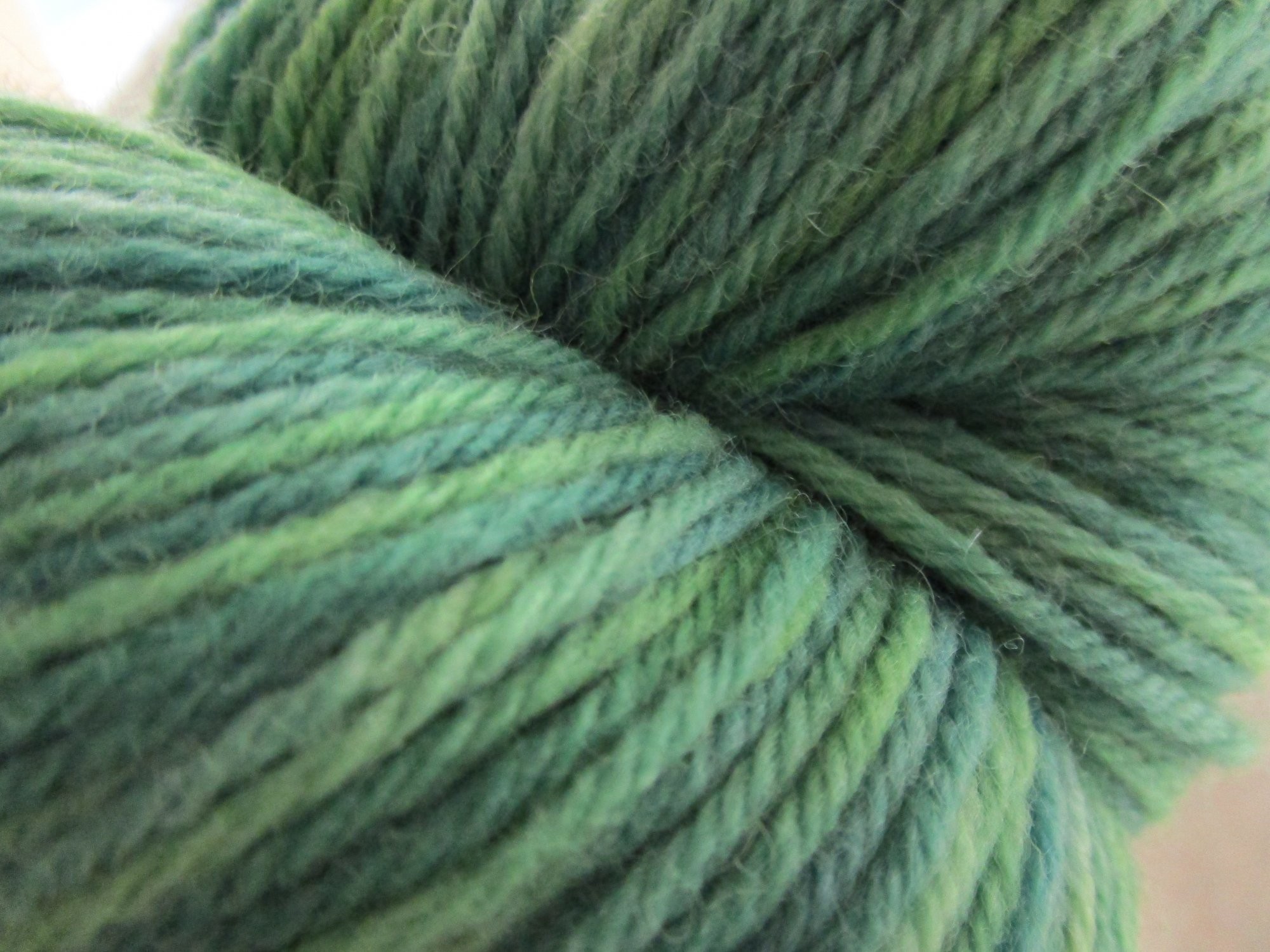 galway worsted collage evergreen 312