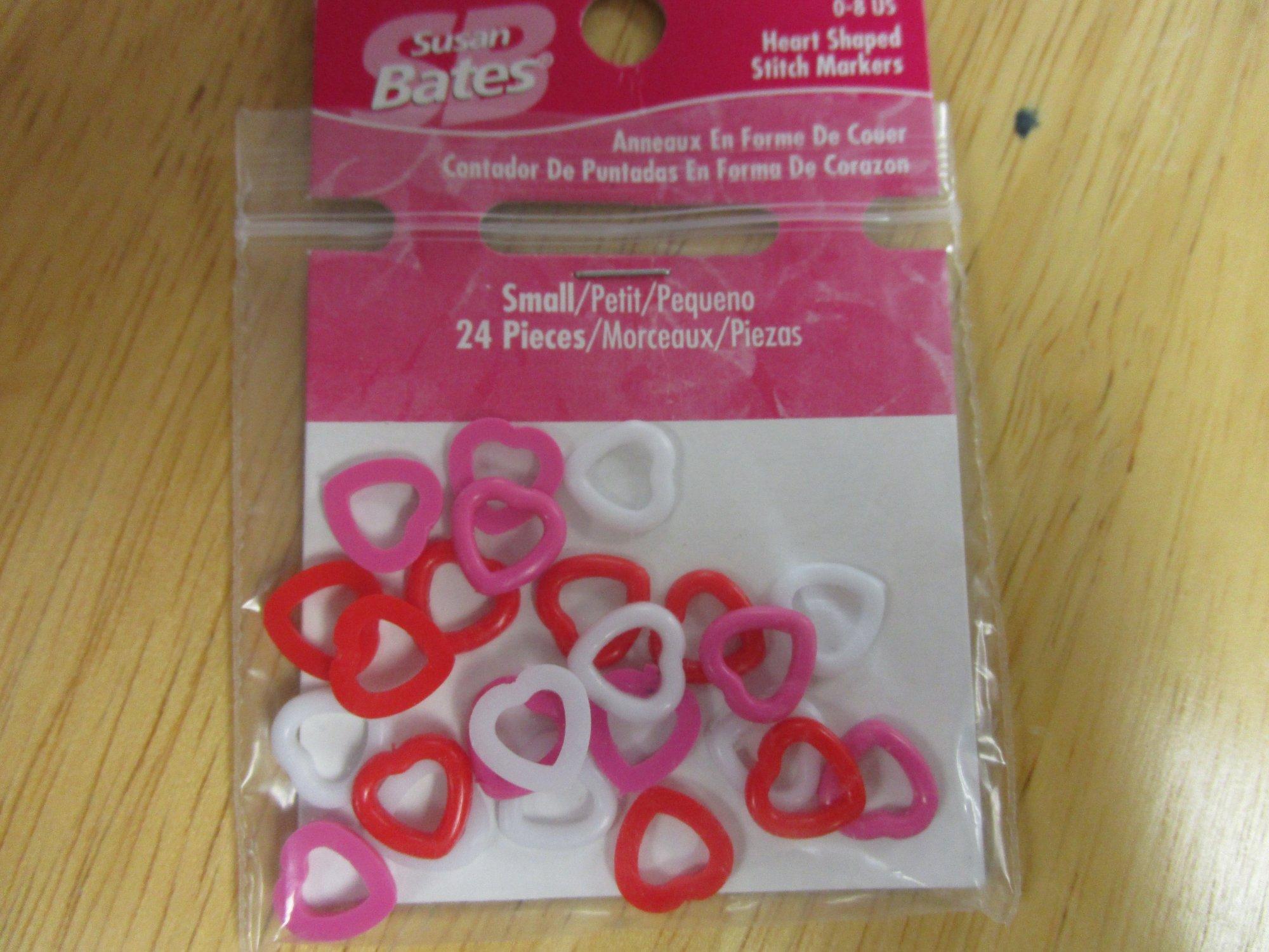 stitch marker heart small