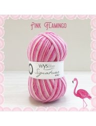 signature 4 ply 845 pink flamingo