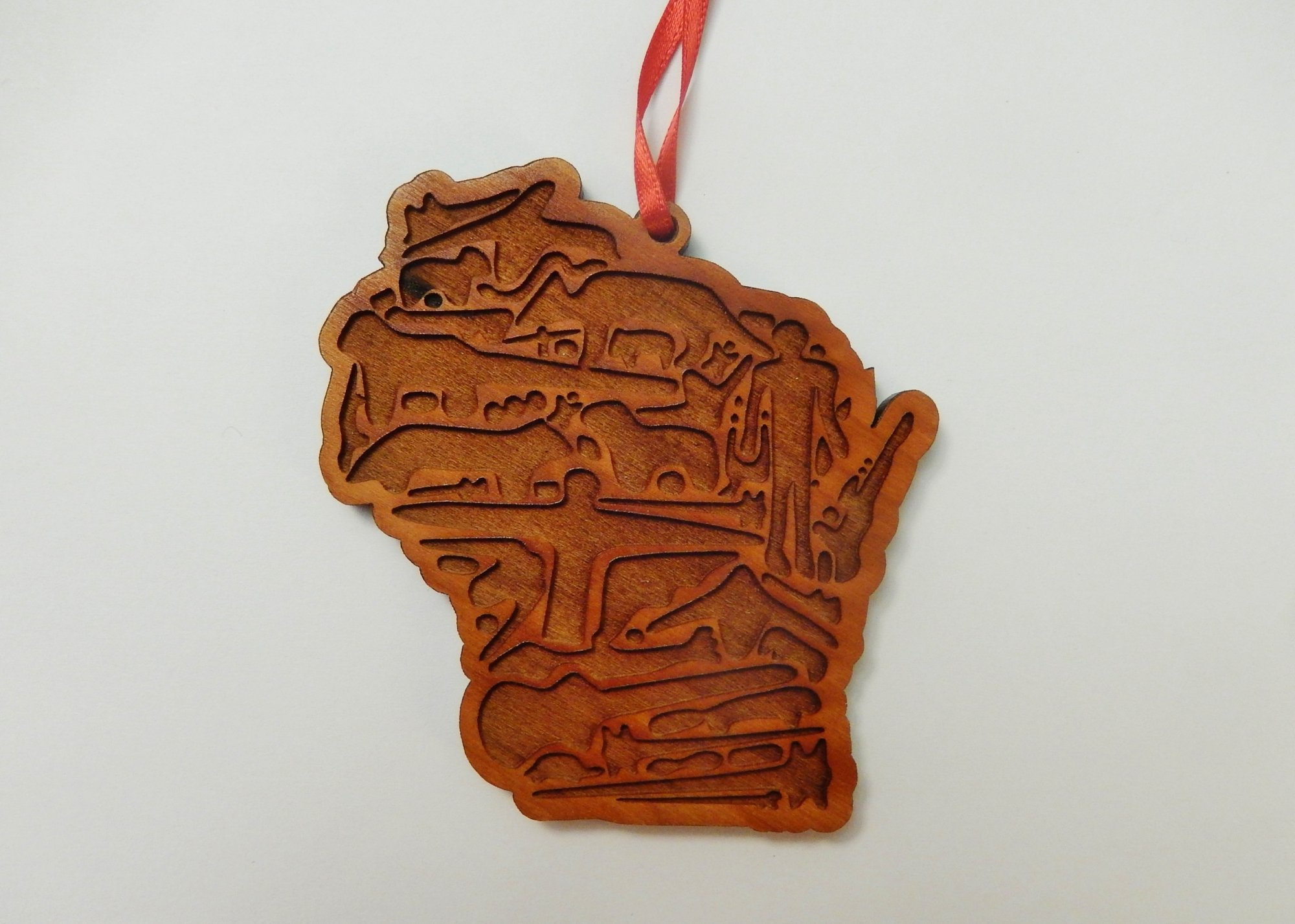 Wisconsin Effigy Mounds Ornament