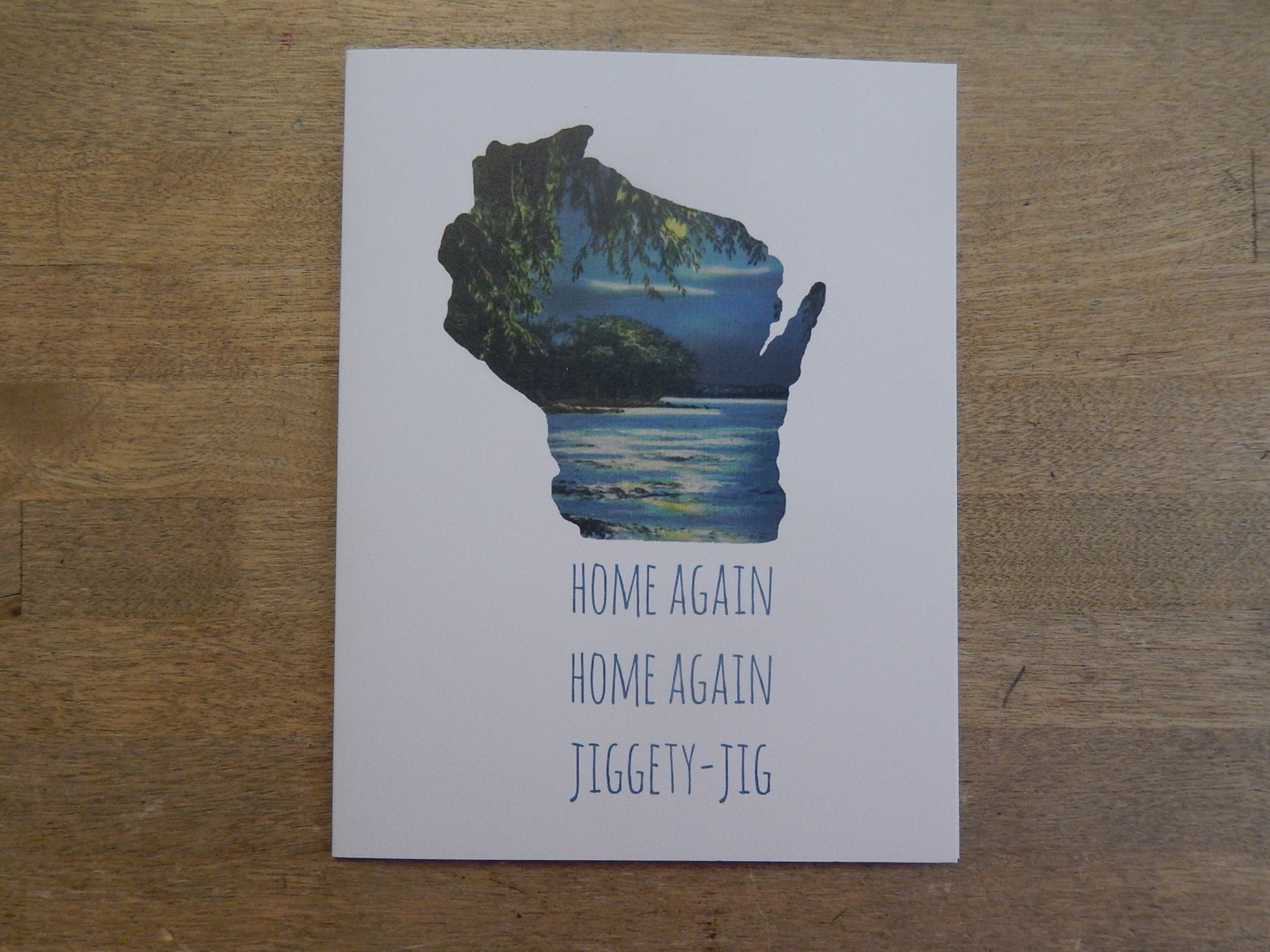 Home Again Card