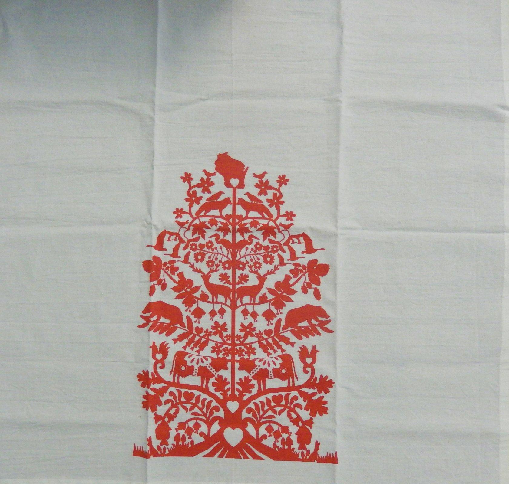 Wisconsin Tree of Life Tea Towel