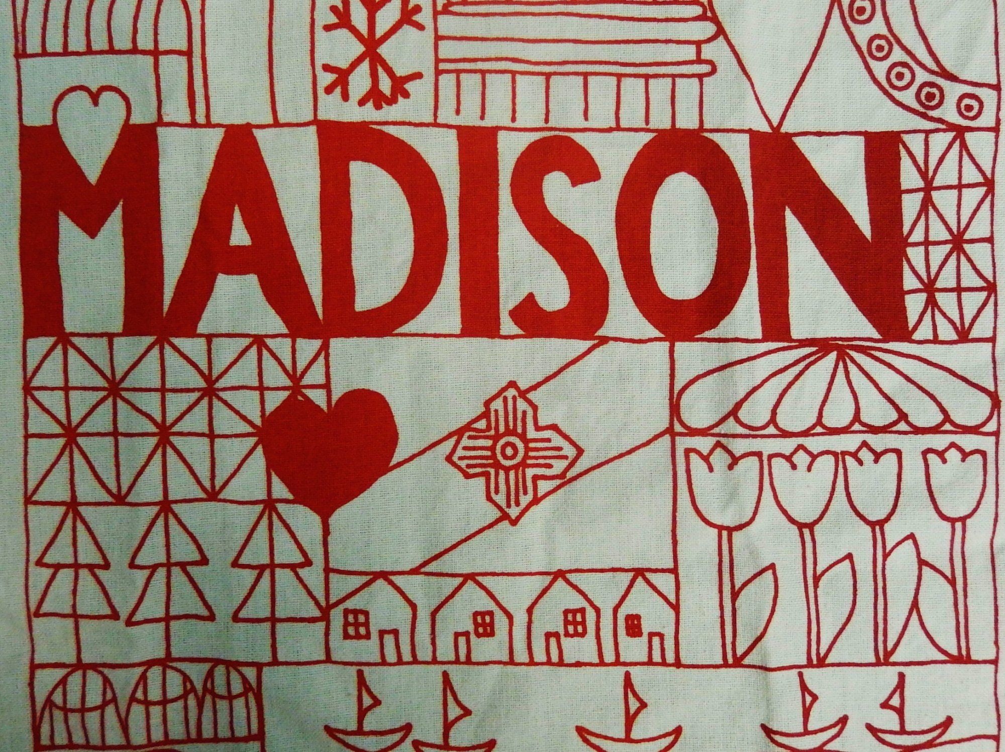 Madison Quilt Tea Towel