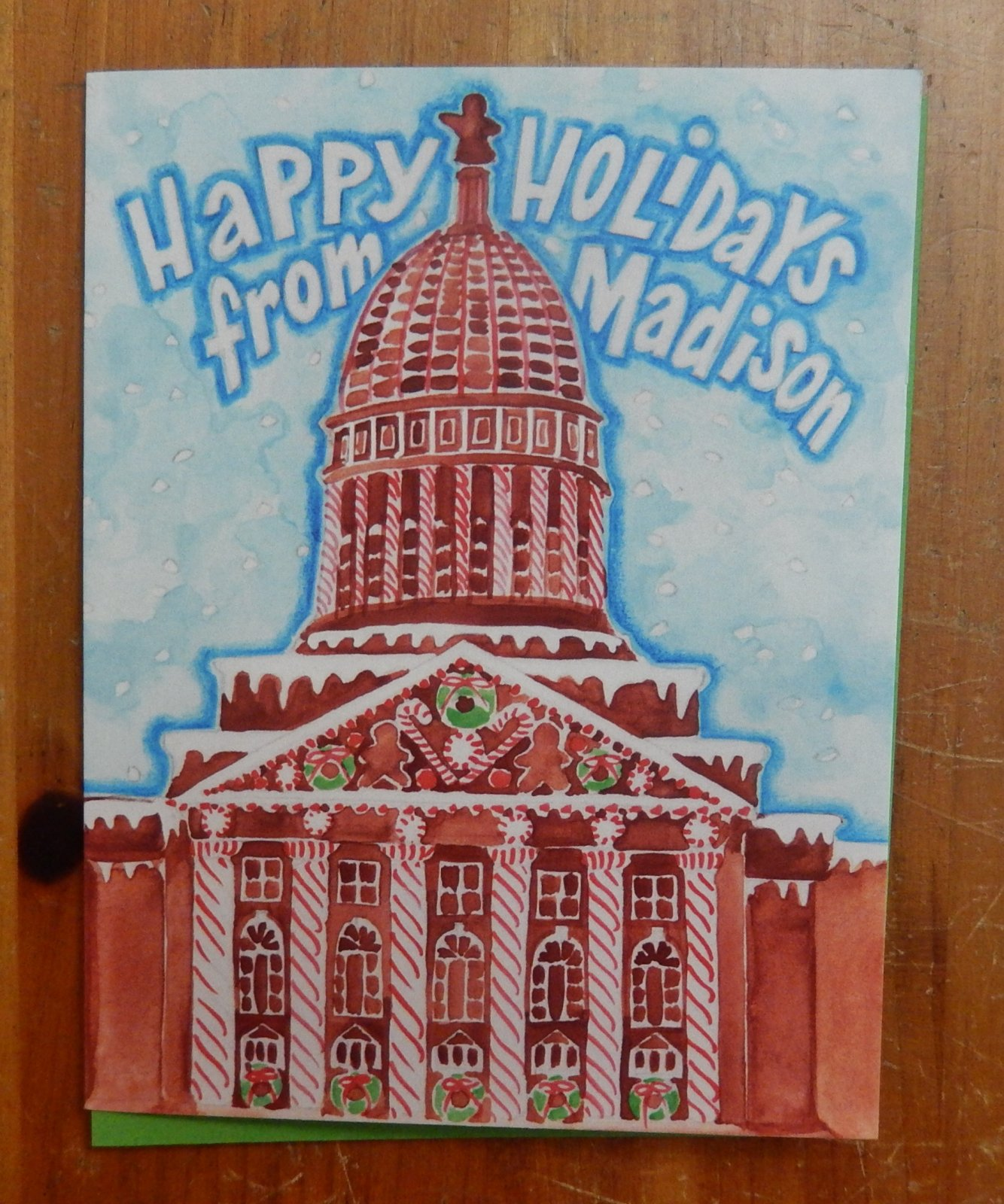 Boxed Gingerbread Capitol set/8
