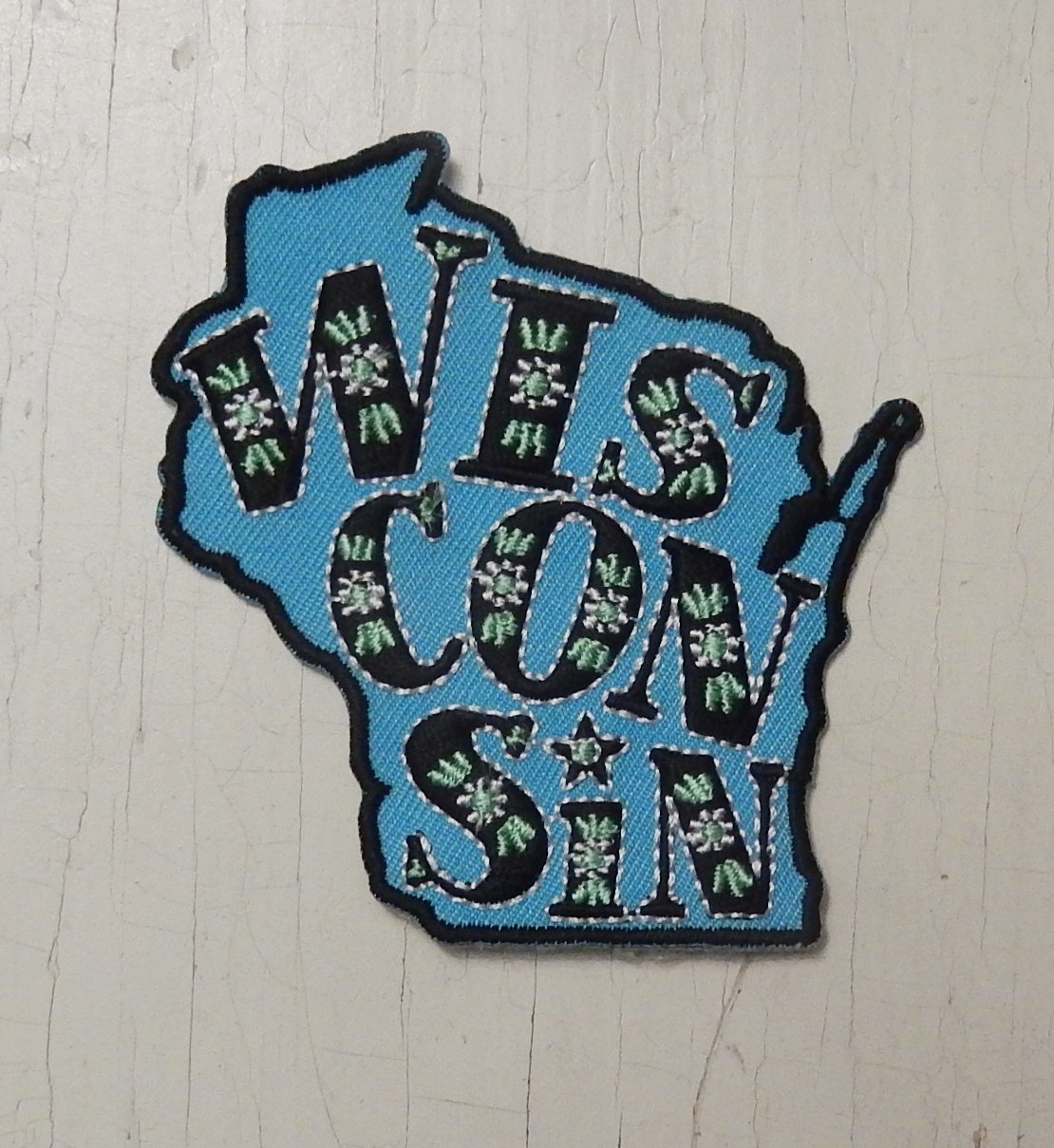 Wisco floral patch