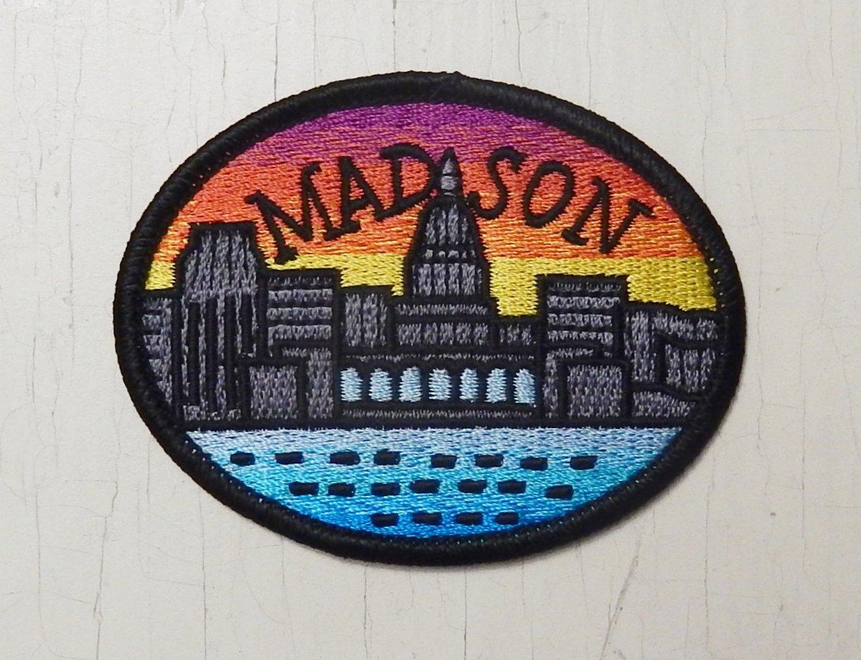 Madison skyline patch