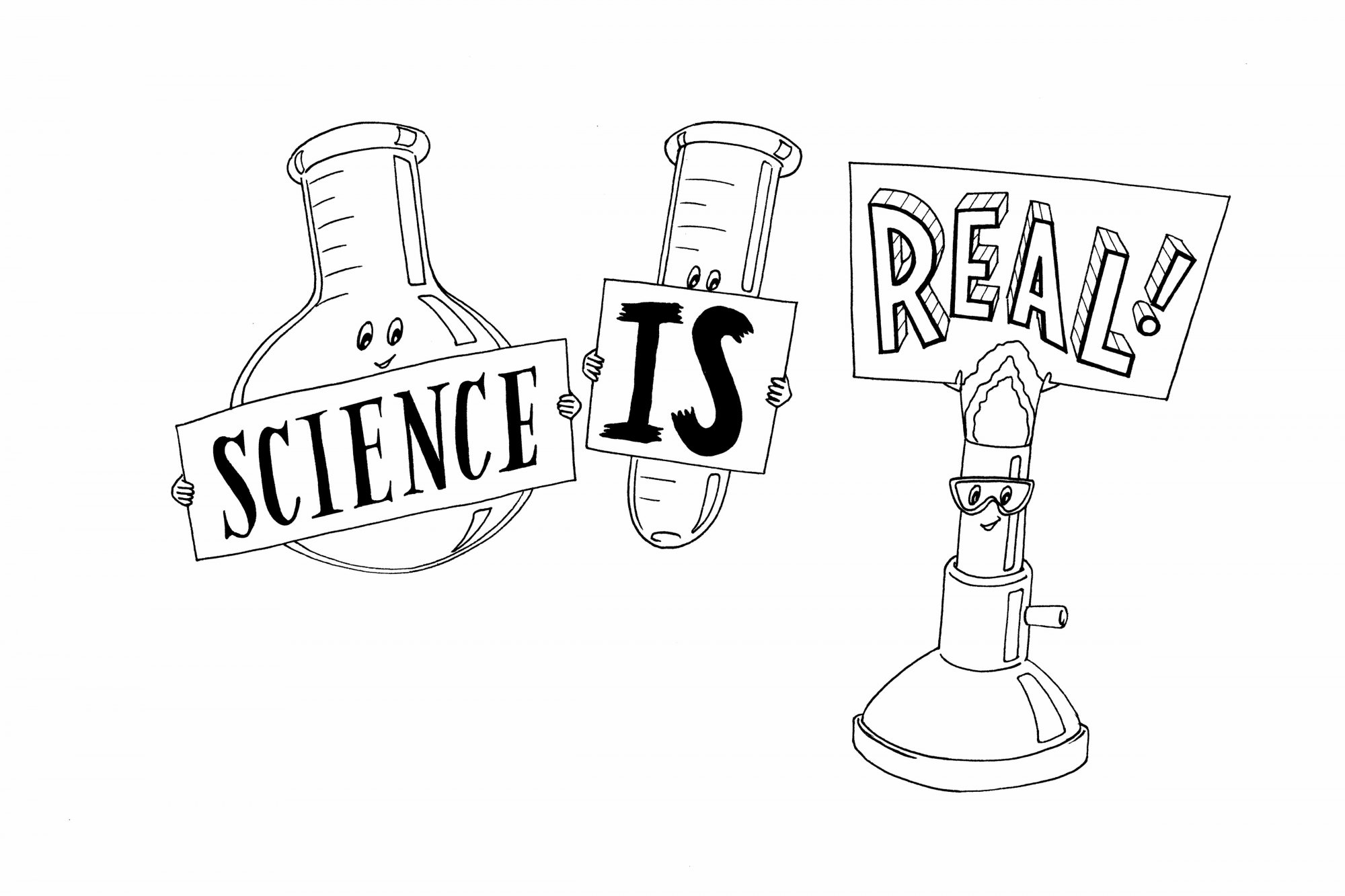 Science is Real print digital download