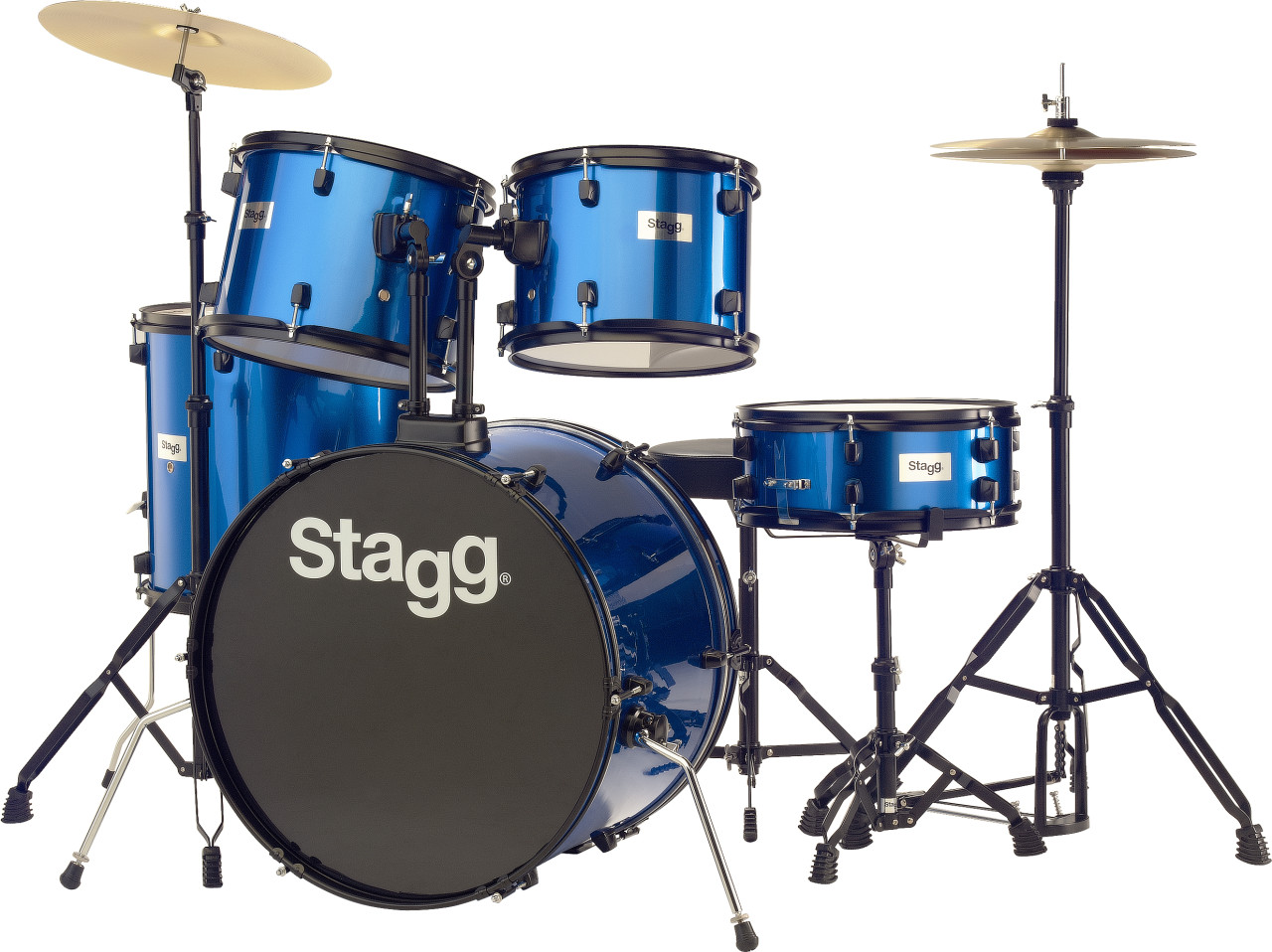 STAGG STD KIT 5-Piece Standard Drum Kit w/ Throne
