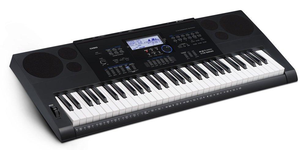 CASIO CTK6200 61-Key Portable Keyboard