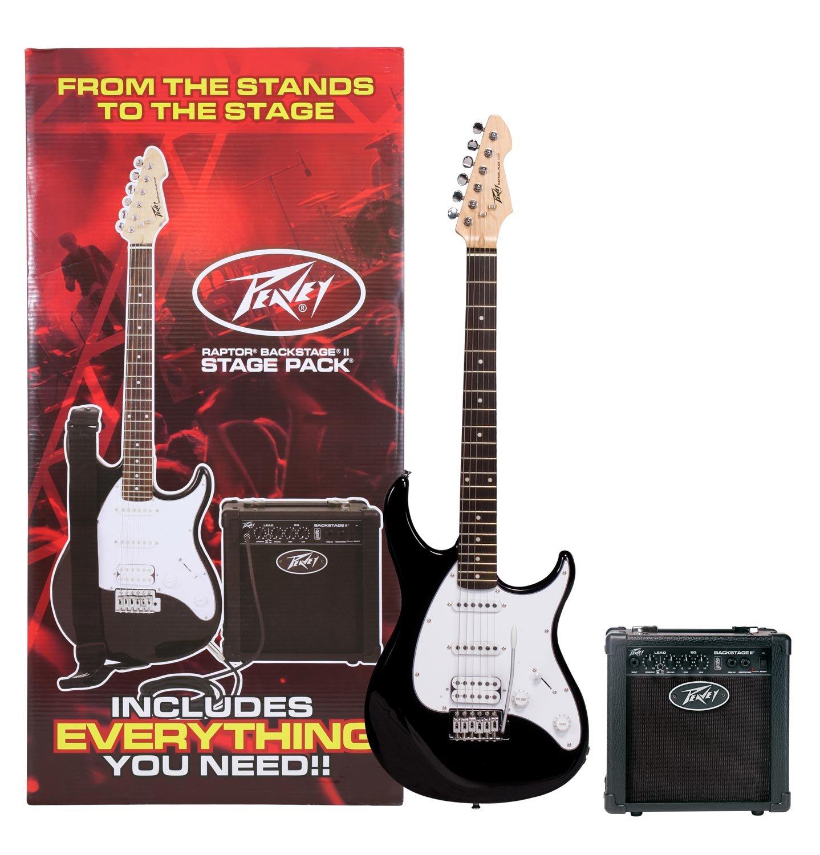 PEAVEY RAPTOR+ STAGE PACK Electric Guitar Pack - Black