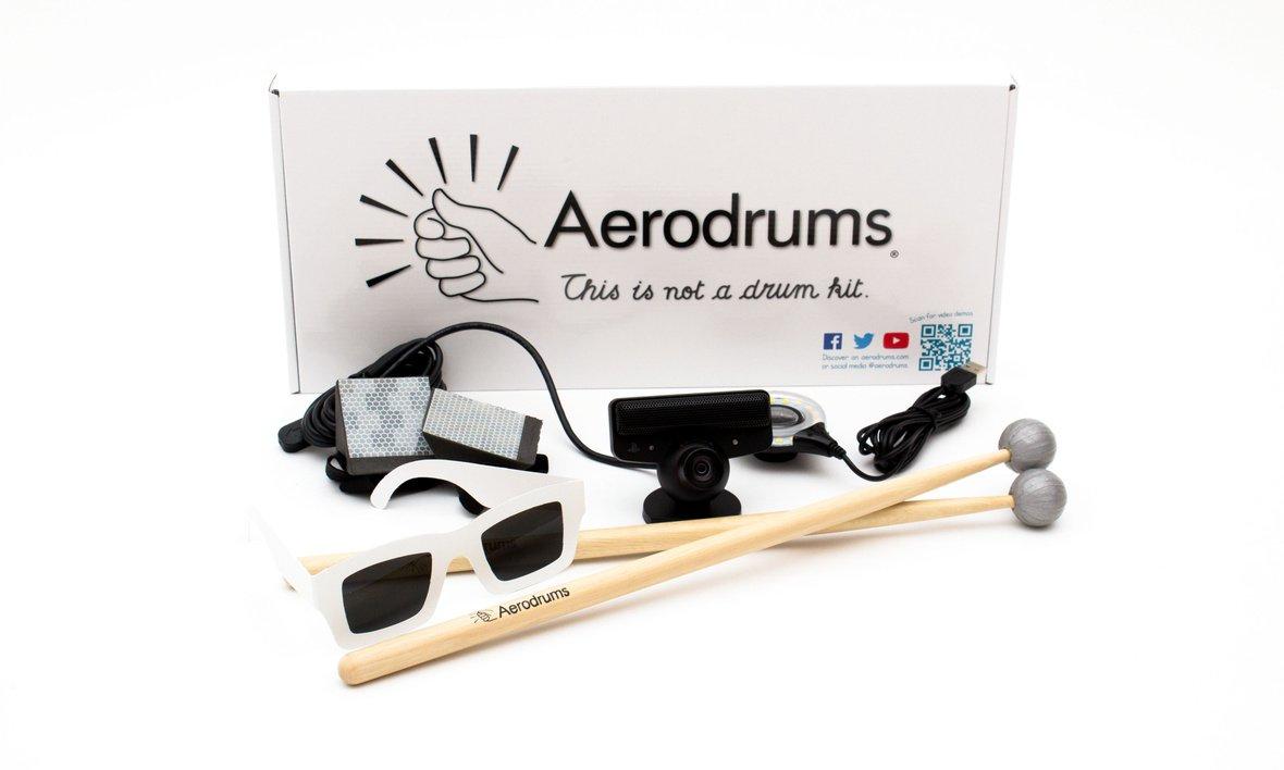 Aerodrums Virtual Drum Kit Air Drumming Instrument