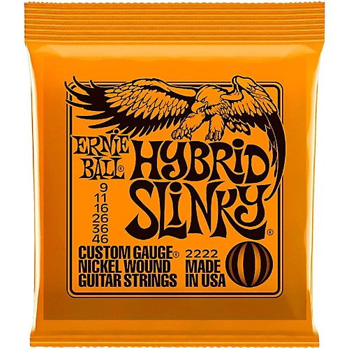 Ernie Ball Hybrid Slinky's 9-46 P02222