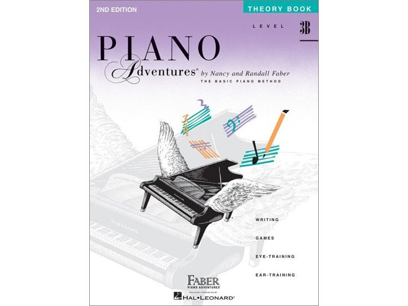 Piano Adventures: Level 3B Theory Book (2nd Edition)