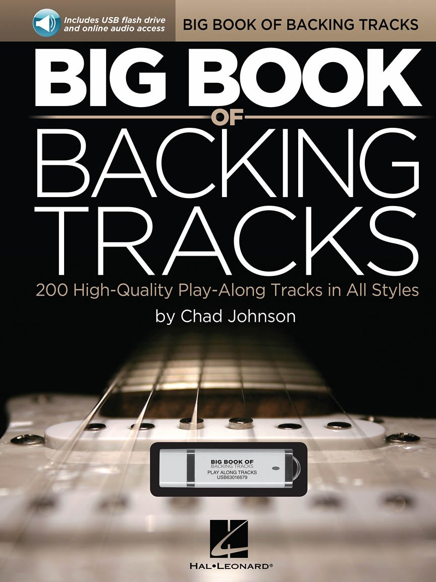 Big Book of Backing Tracks: 200 High Quality Play Along Tracks in All Styles