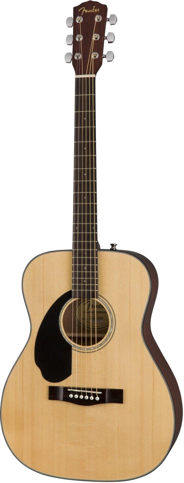 Fender CC-60S Concert Guitar L/H