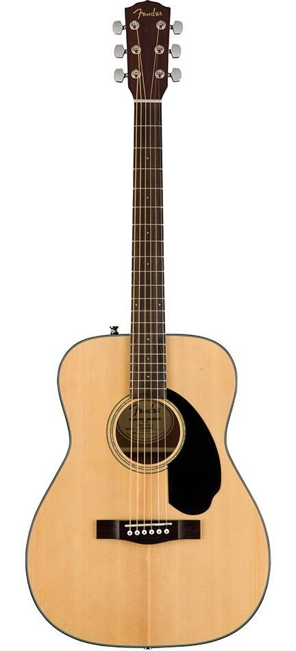Fender Natural CC-60s Concert Acoustic Guitar