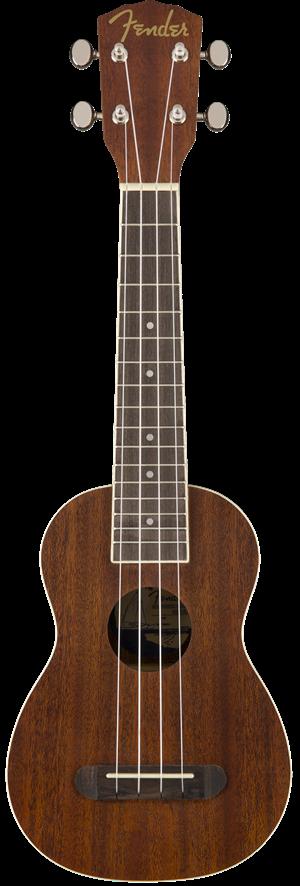 Fender Seaside Soprano Ukulele Natural