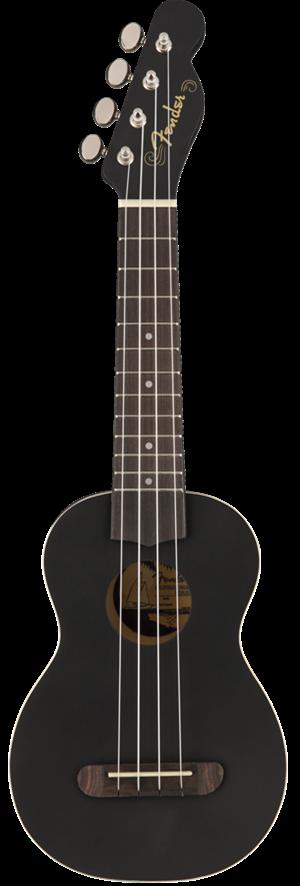 Fender Venice Soprano Black Ukulele