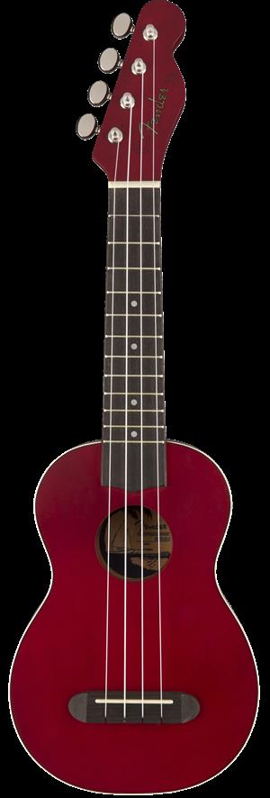 Fender Venice Soprano Cherry Ukulele